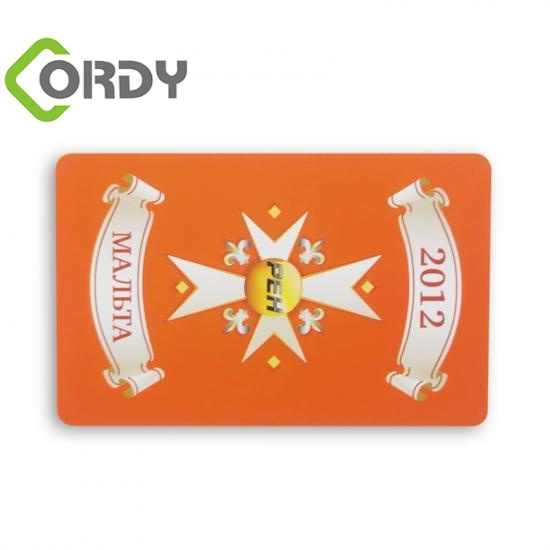 125KHZ Clear printing rfid business card