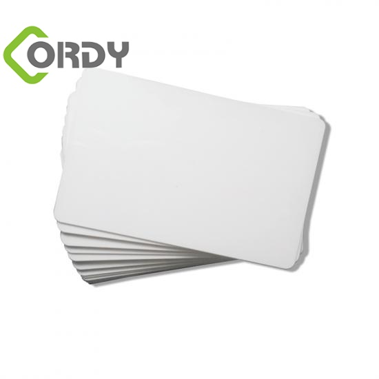 ultralight printed pvc card